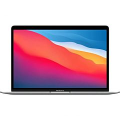 Apple macbook air 13.3'/ apple chip m1/ 8gb/ 256gb ssd/ gpu 7 núcleos/ plata
