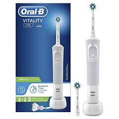 CEPILLO DENTAL BRAUN D170 VITALITY CROSS ACTION BLANCO