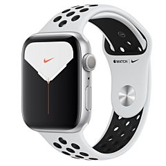 Apple Watch Nike Series 5 GPS 44mm Alu Case Silver/Black Band