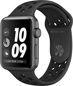 Apple Watch Nike Series 5 GPS Cell 44mm Funda de aluminio gris / negro