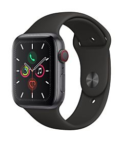 Apple Watch Series 5 GPS + Cell 44mm Alu Case Grey Sport Band