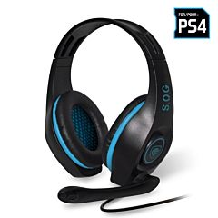 Auriculares con micrófono para ps4 spirit of gamer pro-sh5 - drivers 40mm - conector jack 3.5mm - cable 2.1m