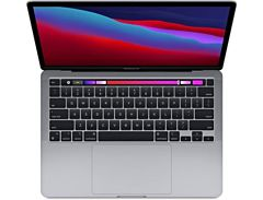 Apple macbook pro chip m1 8core cpu/8core gpu/8gb/256gb - gris espacial - myd82y/a